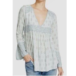 Free People Rolling Hills Tunic in Green